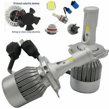 2x 110W 9200LM H4 CREE LED Light Headlight  Kit Car Hi/Lo Beam Bulb Kit  6000k