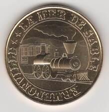-- 2014 COIN MEDAILLE TOKEN JETON MONNAIE DE PARIS-- 60 950 MER DE SABLE TRAIN