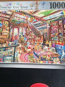 ravensburger 1000 piece Aimee Stewart Fantasy toy shop BRAND NEW FACTORY SEALED