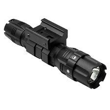 NcSTAR Pro Series LED 250 Lumens Tactical Flashlight Weaver Rifle Gun Rail Mount