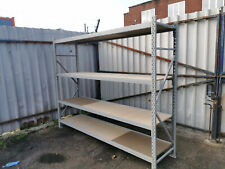 4 LEVELS ADDITIONAL BAY RACKING STORAGE SHELVING WAREHOUSE HEAVY DUTY GARAGE