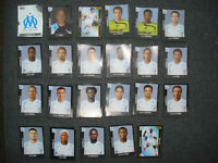 Vignette panini football 2008 Olympique de marseille stickers foot France