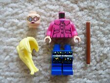 LEGO Harry Potter - Rare Luna Lovegood Minifig w/ Wand - From 4841 - Excellent