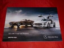 MERCEDES C197 SLS AMG + SLS AMG GT Coupe Roadster Prospekt von 2013