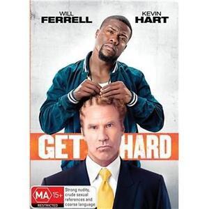 GET HARD Will Ferrell & Kevin Hart (DVD, 2015) NEW