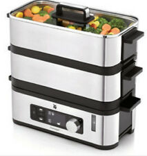 WMF Kitchenminis Vitalis E Steam Cooker Stainless Steel/Black