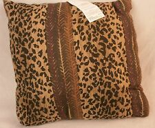 "Domestications Dakar Toss Pillow 17"" Square Multi-color NEW 5208s 10665f"