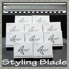 100 pcs Replacement Salon Hairdressing Blades Styling Razor Feather Compatible