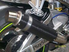Carbon GP Style Exhaust Yamaha R1 R 1 1997-2001 97-01 EX26