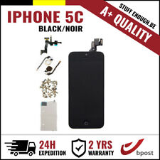 A+ LCD TOUCH SCREEN VITRE SCHERM ÉCRAN FULL ASSEMBLY BLACK NOIR FOR IPHONE 5C