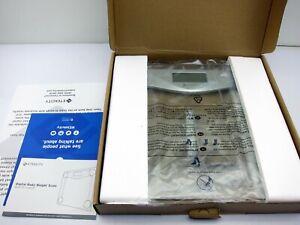 NEW Etekcity Digital Body Weight Bathroom Scale 400 Lb x 0.2  Pound Sliver