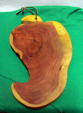 "Mesquite Cutting Board "" PEPPER""Cheese /Bread orFruit Tray.Handmade"