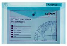 Snopake Polyfile 12838X - Cartellina portadocumenti in plastica, formato (K5v)