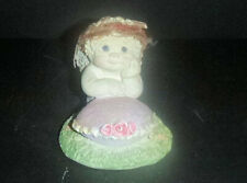 Dreamsicles Figurine April Calendar Collectibles Easter Egg signed Kristin 98