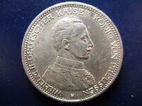 ALEMANIA PRUSIA PRUSSIA 5 MARCOS 5 MARK 1913 A EBC+