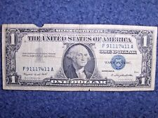 RARE 1957 SILVER CERTIFICATE WITH CRAZY FIVE-OF-A-KIND SERIAL NUMBER!