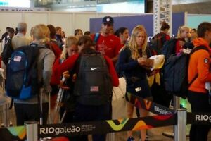 Nike 2016 Rio Olympics Team USA Flag Elite Backpack Navy/Red PE PROMO UNRELEASED