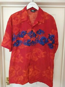 Vintage Chinese Dragon Shirt   XL   Retro Graphic Y2k Festival 90s Party