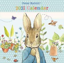 Peter Rabbit Flower Garden Large Square 2021 Calendar