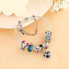 Disney Charm Bracelets: Pluto, Lilo & Stitch, Nemo, Aristocats Marie, Alice Cat
