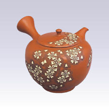 Tokoname Kyusu teapot - SHUNEN - SAKURA - 280cc/ml - Pottery steel net
