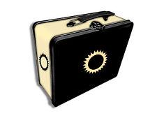 Legion Tin Lunchbox Gaming Case MTG Card Deck Box Holder - Iconic White Sun
