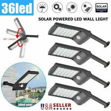 1-4pcs/LED solar spotlight landscape light outdoor garden street light
