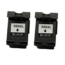 2 Cartuchos Black 300 XL Deskjet f2492 d2600 d2660 d5560 d5660 f2410 f4580 HC