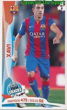 098 XAVI ESPANA FC.BARCELONA STICKER 100 CRACKS DEL JUGON 2005-2014 PANINI
