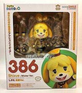 Animal Crossing New Leaf Nendoroid Shizue Isabelle Winter Version Brand New UK