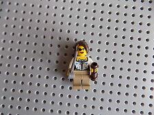 LEGO Custom Pirate Girl Female Ship Wench Minifigure Telescope Sword