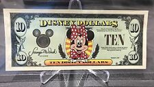 1999 $10 Proof Rarest Disney Dollar 1 of only 8 Notes Walt Disney Dollars