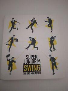 Super Junior M Swing album with Donghae photocard
