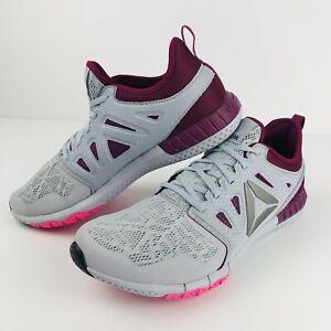 Womens REEBOK Crossfit Z Print 3D Cloud Sneakers Runners 9.5 US Shoes [WS2]