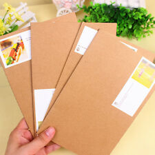 Brown Cover Notebook Diary Jotter Student Office Cartoon Supplies Stationery New