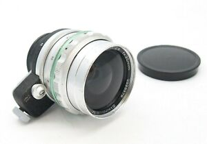Rare Steinheil Munchen 35mm F2.8 Auto Quinaron Lens in Exakta Mount - UK Dealer