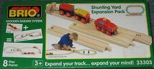 NEW BRIO Shunting Yard Expansion Pack Wooden Track 33303 Free Shipping ! Thomas
