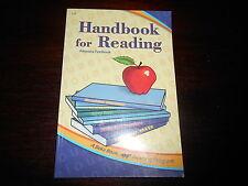 ABeka Book Reading Program homeschool Phonics HANDBOOK FOR READING 1-3rdg