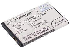 3.7 V Batteria per Samsung Chat 322, GT-S3650, GT-S3370 Pocket, gt-m3318c, GT-S560