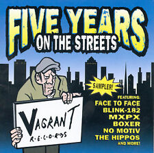 Five Years on the Streets Various Artists MUSIC CD