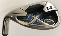 Callaway X22 Sand Wedge Low Torque Mid Kick 75G S Flex Graphite Shaft LH
