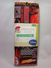 Disney Cars LIGHTNING MCQUEEN Creative Cuts 100% Cotton Fabric Prints ~ 2 YARDS