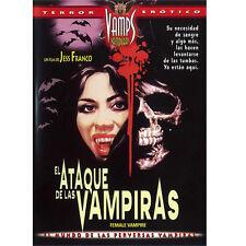 EL ATAQUE DE LAS VAMPIRAS (Jess Franco) DVD . Lina Romay, Jack Taylor, Alice Arn