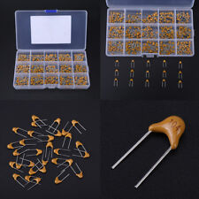 450pcs 15 Value 10pF-100nF Multi-layer Ceramic Capacitor Assortment Kit with Box