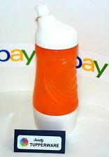 Tupperware Bottle Mini Sports 14 oz Orange & White Removable Base