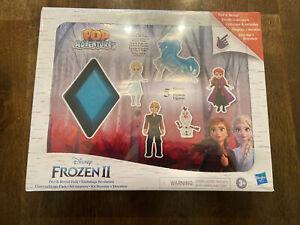 New Pop Adventures Disney Frozen 2 Peel & Reveal Pack Figure Toys Hasbro Elsa ♡
