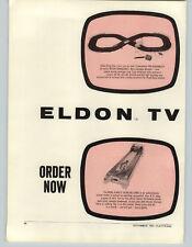 1962 PAPER AD 2 PG Eldon Road Race Sets Bowl A Matic Game
