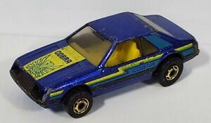 Vintage 1979 Hot Wheels Mustang Turbo Cobra Blackwall Gold Hot Ones