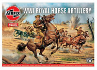 AIRFIX® 1:76 WW1 ROYAL HORSE ARTILLERY MODEL KIT SOLDIERS WWI A00731V