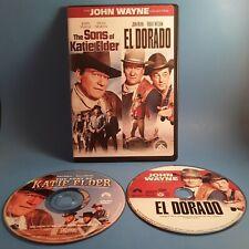 The Sons of Katie Elder/El Dorado (DVD 2007)The John Wayne Collection☆Ships Free